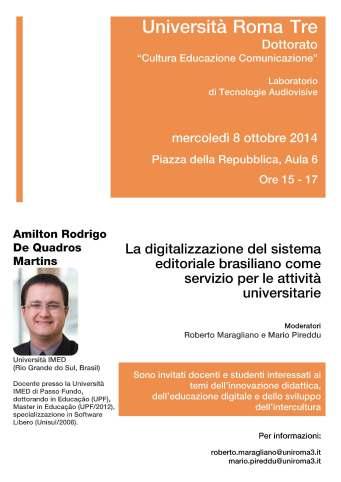 Locandina_Seminario_Amilton_Martins_08-10-2014