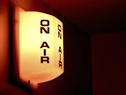 il segnale on air che in radio indica lo stare in onda