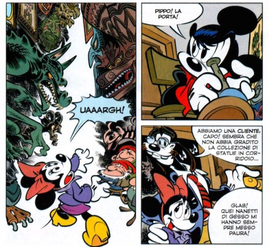 La parodia di Dyaln Dog raccontata sulle pagine di Topolino. A sceneggiarla Tito Faraci da un soggetto di Roberto Recchioni. I disegni sono di Paolo Mottura.