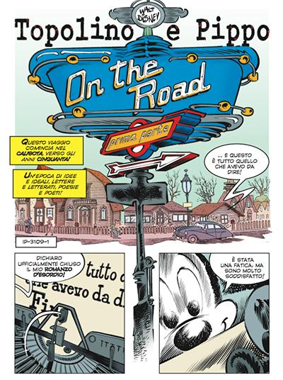 La parodia del romanzo Sulla strada di Jack Kerouac scritta da Fausto Vitaliano e illustrata da Paolo Mottura.