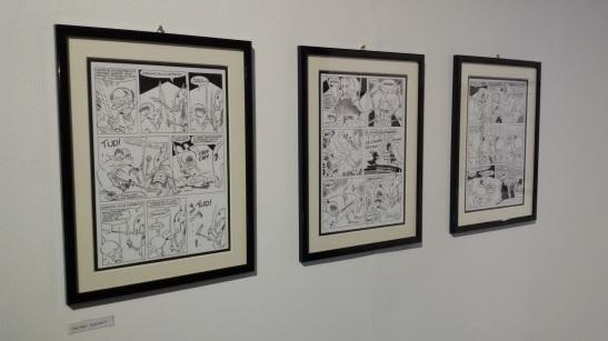 Le tavole originali di Rat-Man esposte all'ARF
